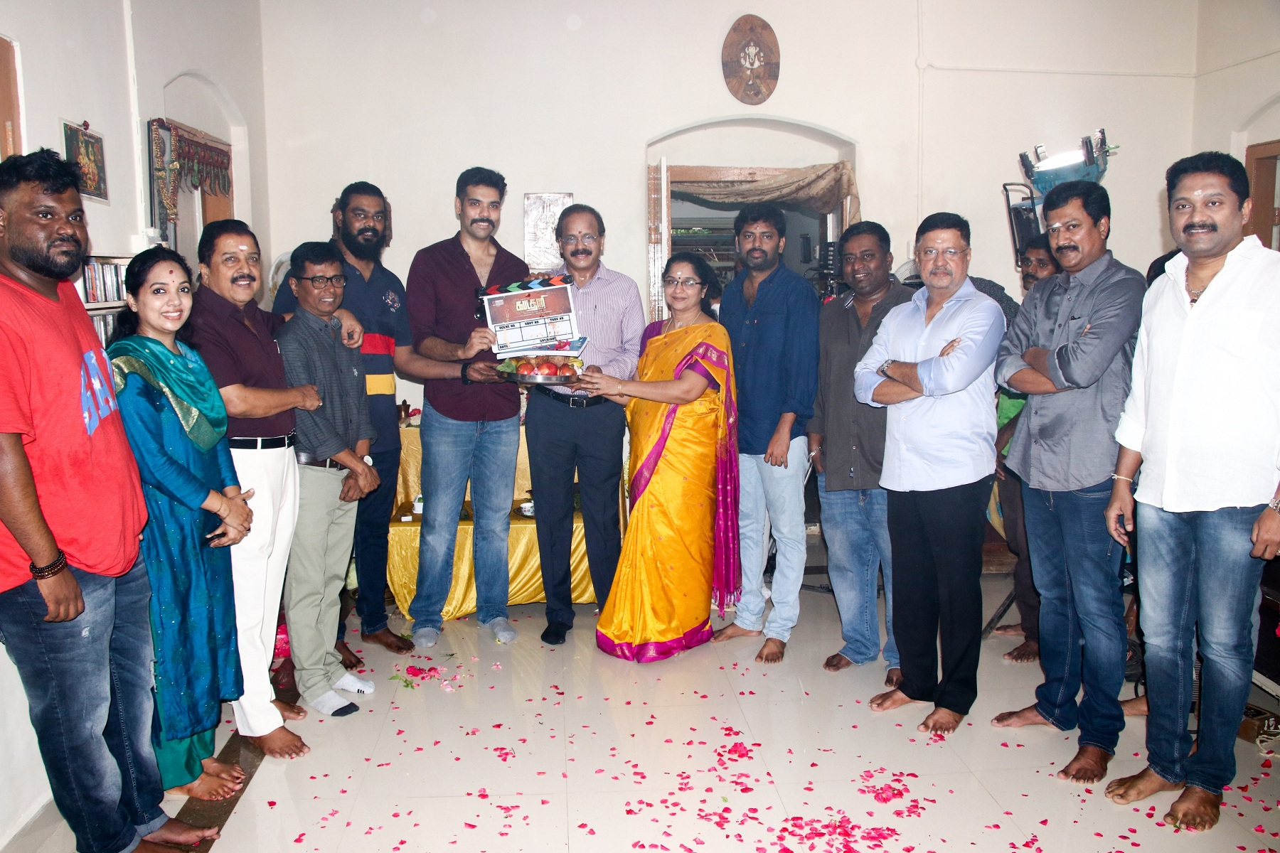"Sibiraj starrer ""Kabadadaari"" shooting starts with formal Pooja today."