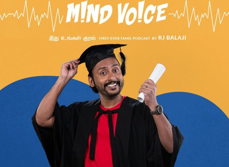 RJ Balaji's Podcast JioSaavn Mind Voice becomes showstopper of the season