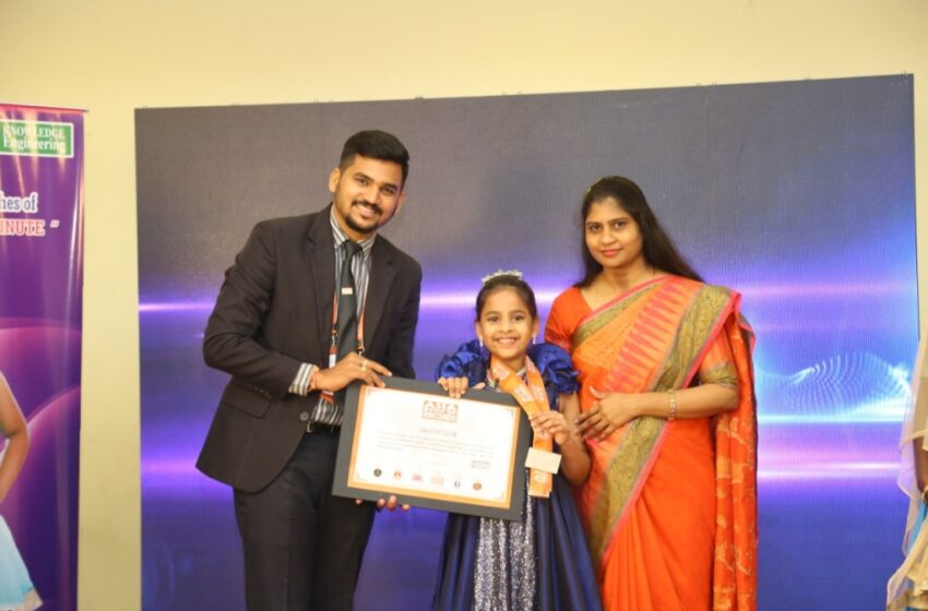 Ruvanthika wins Young Achiever award!