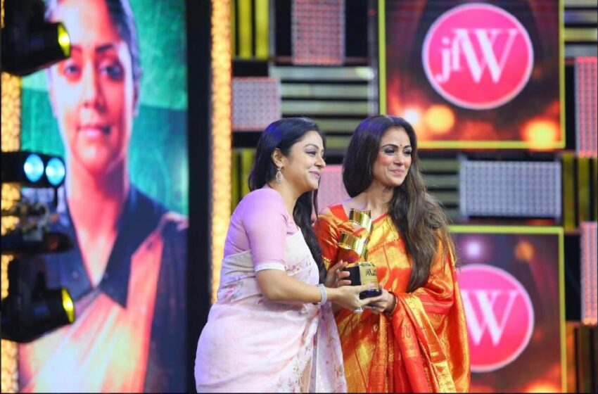 JFW Recognises Women in Tamil Cinema In Their Grand Movie Awards!