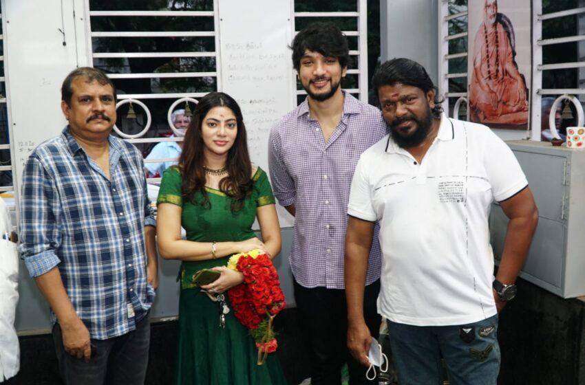"""Kaviya entertainment """"Production NO:2""""  Parthiban Radhakrishnan-Gautham Karthik starrer launched"""