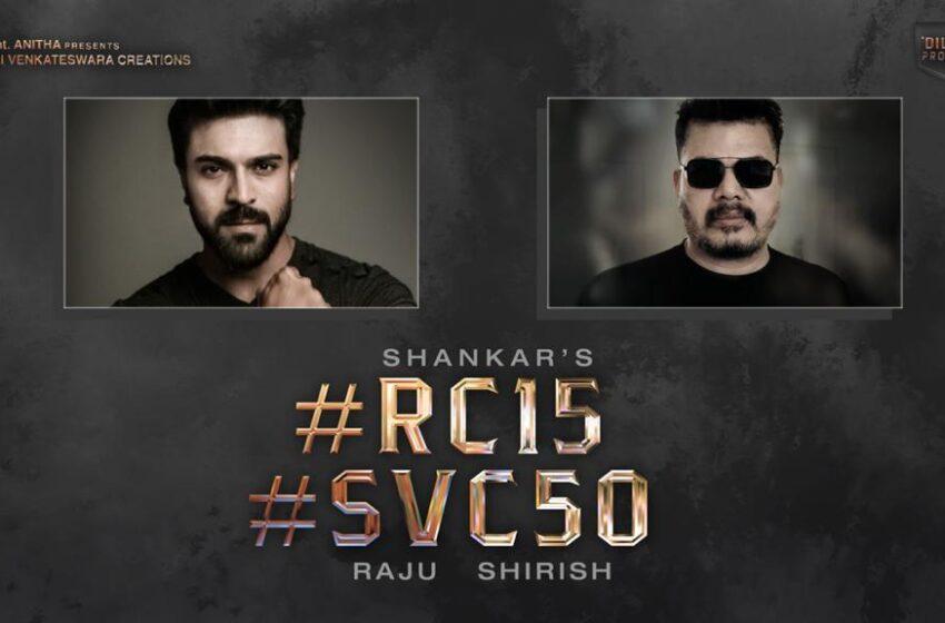 Ram Charan, director Shankar, and producer Dil Raju collaborate for a big Film