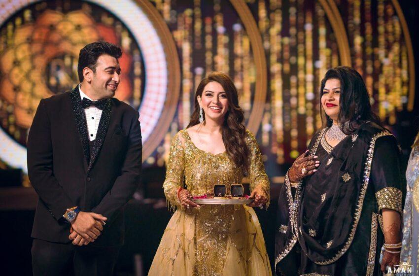 Actress Hansika Motwani's brother Prashanth engaged with Muskaan