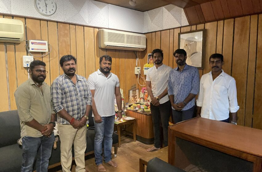 Velan team kick-starts dubbing works