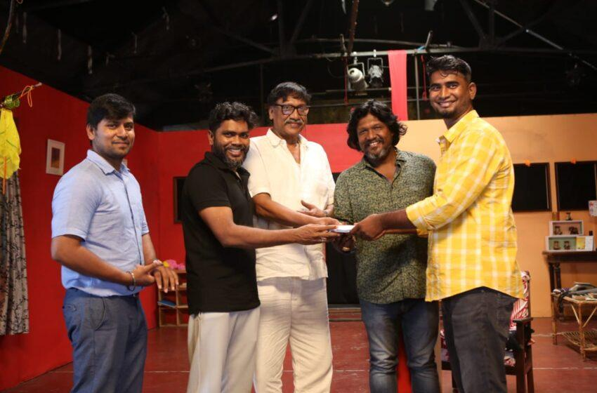 An Associate of Director Pa. Ranjith debuts in with a Humorous mixed Emotional Film!
