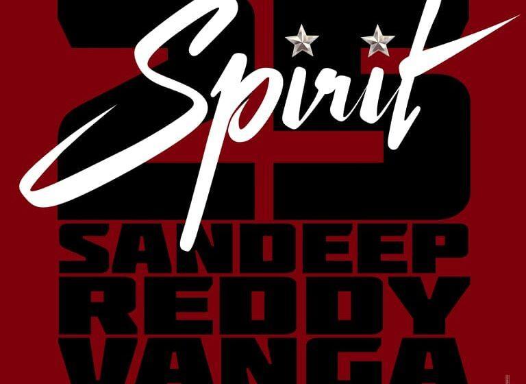 Official: Prabhas – Sandeep Vanga's 'Spirit'